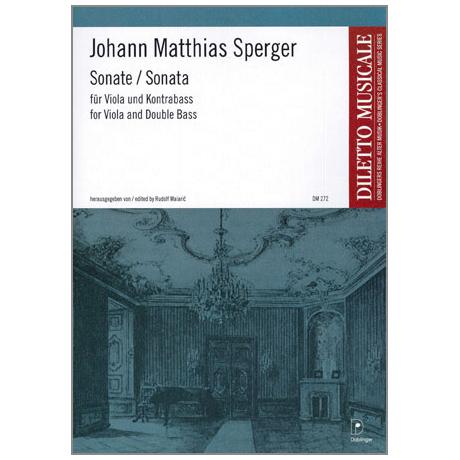 Sperger, J. M.: Sonata D-Dur