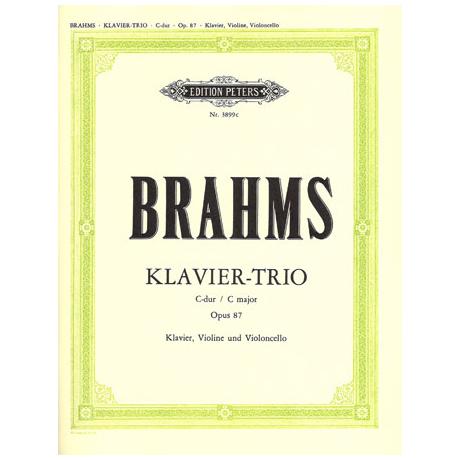 Brahms, J.: Klaviertrio Nr. 3 C-Dur, op. 87
