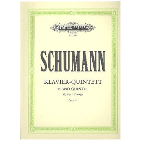 Schumann, R.: Klavierquintett Es-Dur, Op. 44