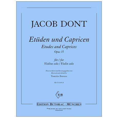 Dont, J.: 24 Etüden und Capricen Op. 35
