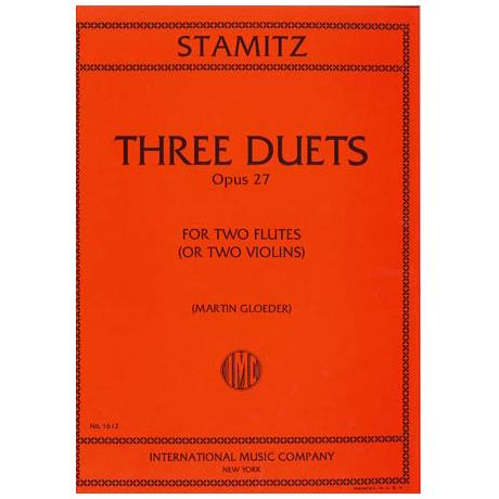 Stamitz, C.: 3 Duette op. 27
