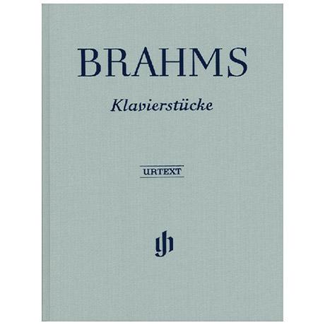 Brahms, J.: Klavierstücke