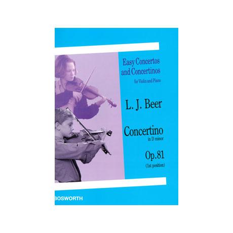Beer, L.: Concertino in d-moll Op. 81