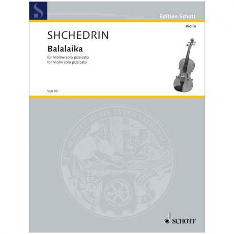 Schtschedrin, R.: Balalaika (1998)
