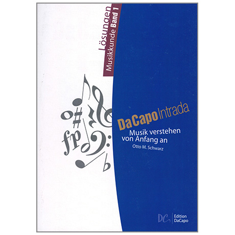 Da Capo Intrada – Lösungen Musikkunde Band 1