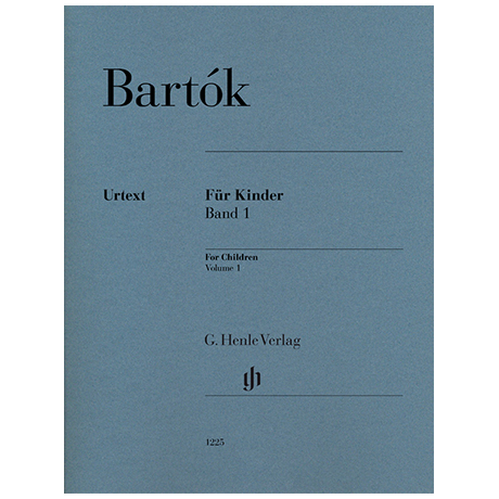 Bartók, B.: Für Kinder (rev. 1946) Bd. 1