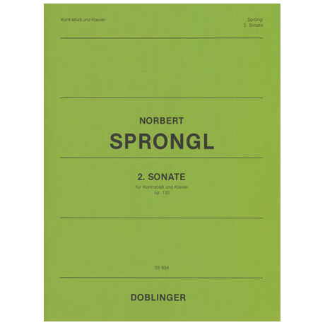 Sprongl, N.: 2. Sonate