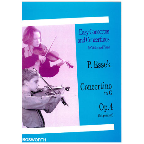 Essek, P.: Concertino in G-Dur op. 4