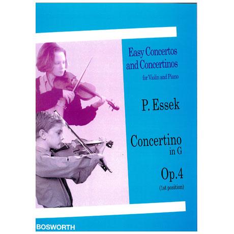 Essek, P.: Concertino in G-Dur op. 4