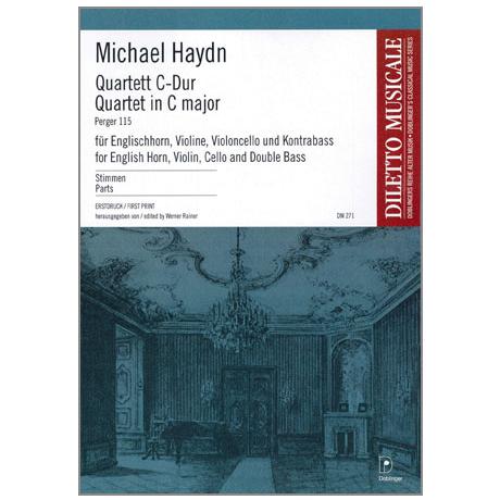 Haydn, M.: Quartett C-Dur