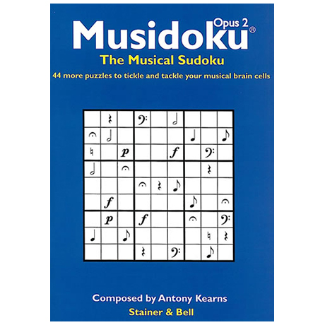 Musidoku: The Musical Sudoku Opus 2