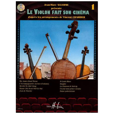 Le violon fait son cinéma Vol. 1 (+CD)
