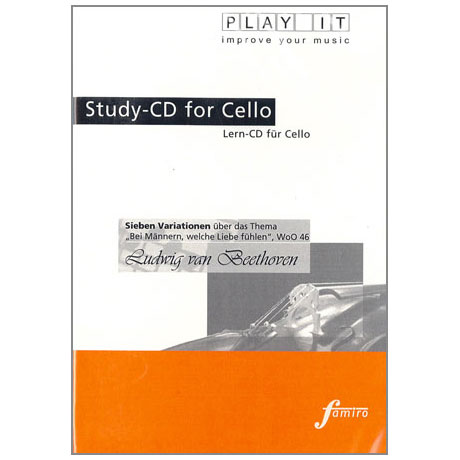 Beethoven, L. v.: 7 Variationen »Bei Männern, welche Liebe fühlen« Play-Along-CD (nur CD)