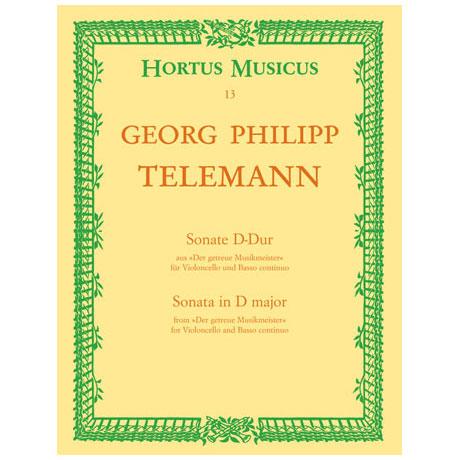Telemann, G.P.: Sonate D-Dur Der getreue Musikmeister