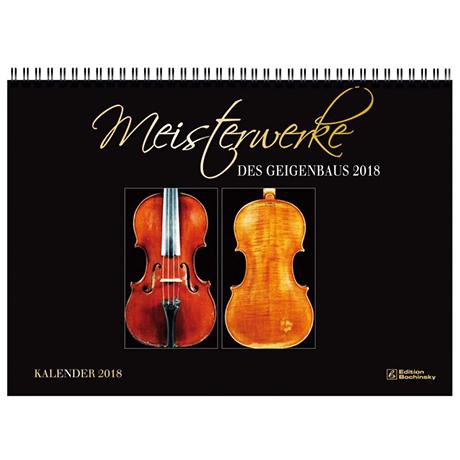Meisterwerke des italienischen Geigenbaus – Kalender 2017