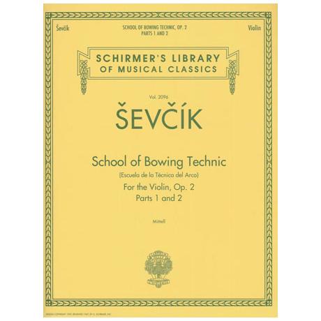 Sevcik, O.: School of Bowing Technics Op.2 Band 1 & 2