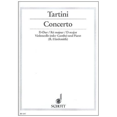 Tartini, G.: Violoncellokonzert Nr. 2 D-Dur