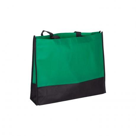 Tragetasche Nairobi schwarz/grün