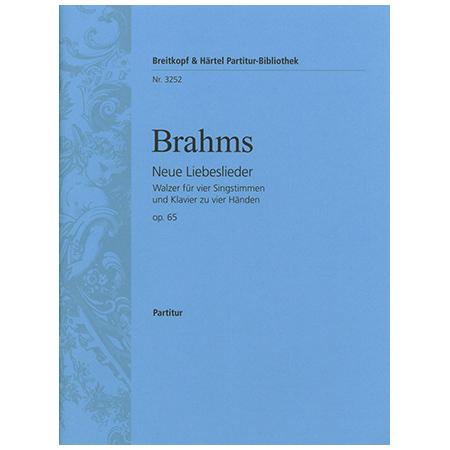 Brahms, J.: Neue Liebeslieder Op. 65