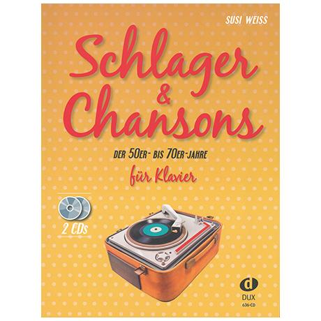 Weiss, S.: Schlager & Chansons der 50er – bis 70er Jahre (+2CD's)