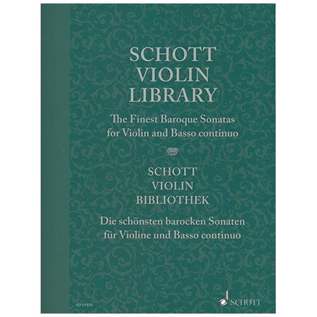 Mohrs, P.: Die schönsten barocken Sonaten