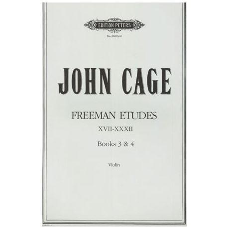 Cage, J.: Freeman Etudes Books 3-4 (Nr. 17-32)