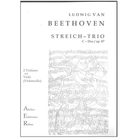 Beethoven, L.v.: Trio in C - Dur op. 87