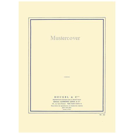Milhaud, D.: Violinkonzert Nr. 3 Op. 373 »Concerto Royal« (1958)