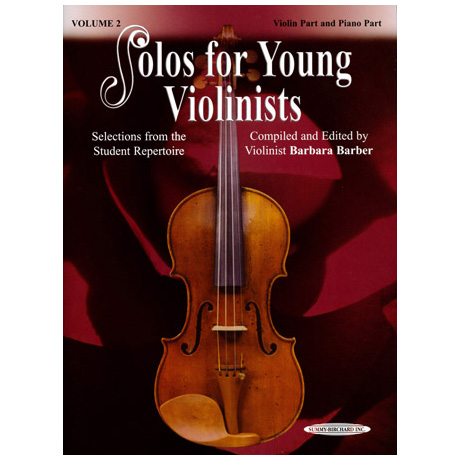 Solos for young violinists Band 2