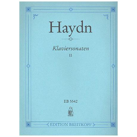 Haydn, J.: Klaviersonaten Band II