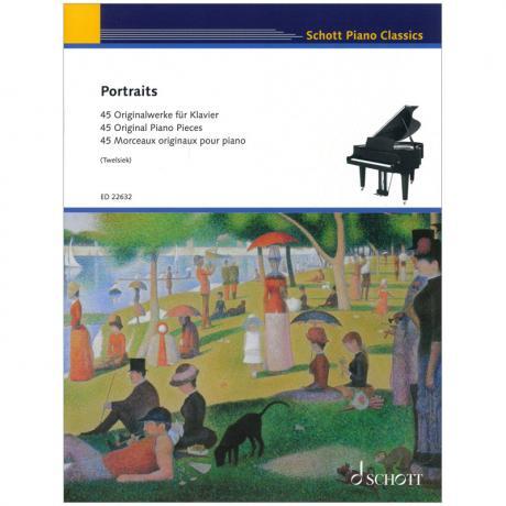 Portraits – 45 Originalwerke für Klavier
