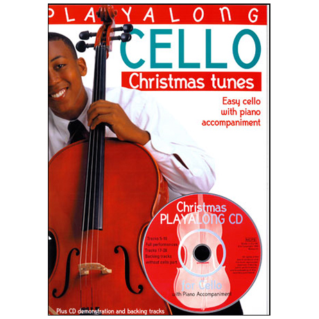 Playalong Cello: Christmas Tunes (+CD)