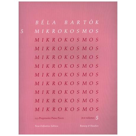 Bartók, B.: Mikrokosmos Band 5