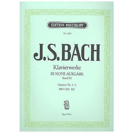 Bach, J. S.: Partiten Nr. 1-3 BWV 825-827