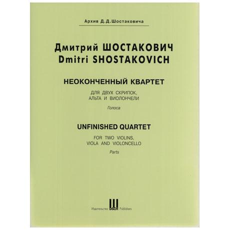 Schostakowitsch, D.: Unvollendetes Streichquartett Es-Dur (1961)