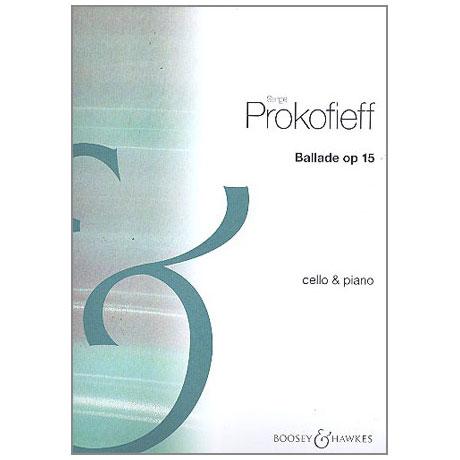 Prokofjew, S.: Ballade Op. 15 (1912)