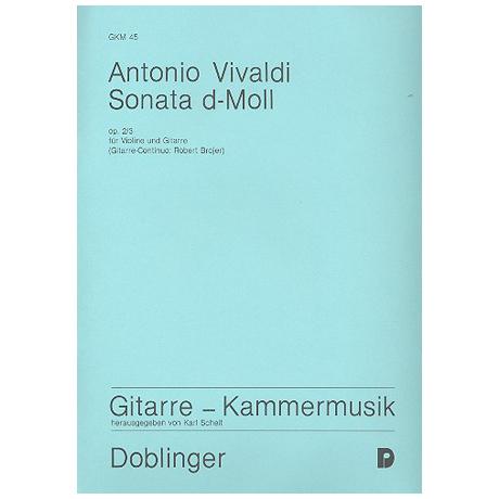 Vivaldi, A.: Sonate d-Moll Op. 2/3