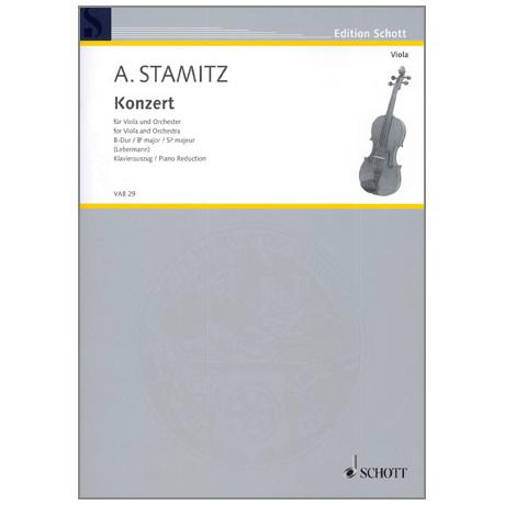 Stamitz, A.: Violakonzert B-Dur