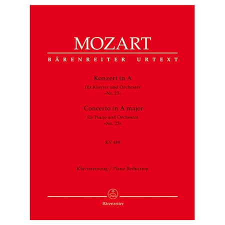 Mozart, W. A.: Klavierkonzert Nr. 23 KV 488 A-Dur