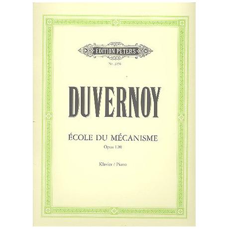 Duvernoy, J.-B.: Ecole du Mécanisme Op. 120