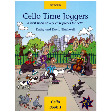 Blackwell: Cello Time Joggers - Band 1 (+CD)