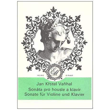 Vaňhal, J.: Sonata per il pianoforte con violino obligato
