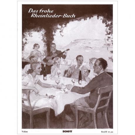 Das frohe Rheinlieder-Buch Band 2 – Violine