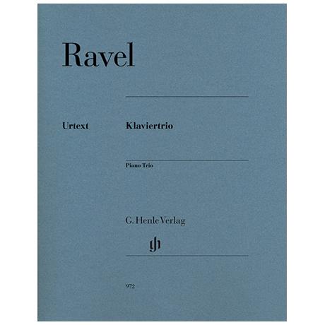 Ravel, M.: Klaviertrio (1914)