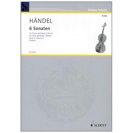 Händel, G. F.: 6 Sonaten Band 2