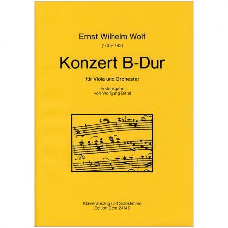 Wolf, E. W.: Violakonzert B-Dur