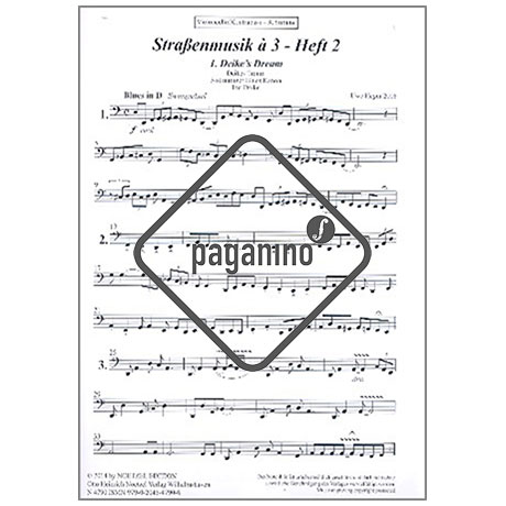 Heger, U.: Straßenmusik à 3 Band 2