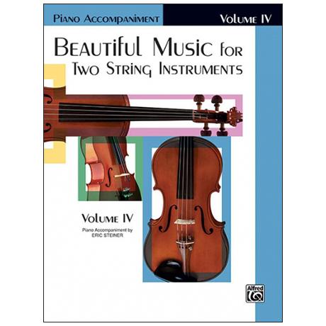 Applebaum, S.: Beautiful Music for two String Instruments Vol. 4 – Klavierbegleitung