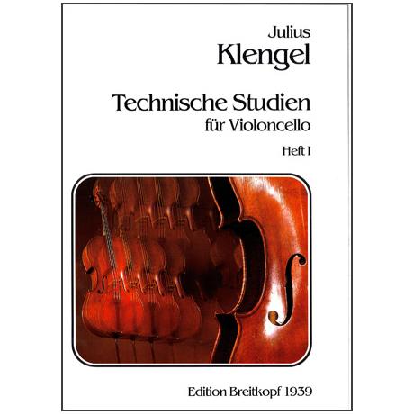 Klengel, J.: Technische Studien durch alle Tonarten Band I