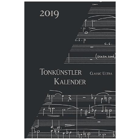 Tonkünstler-Kalender »Classic Ultra« 2019